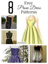 mood diy free two piece prom dress pattern your prom should be