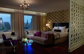 Bedrooms With Wood Floors by Junior Suite In Montreal Canada Ritz Carlton Montreal