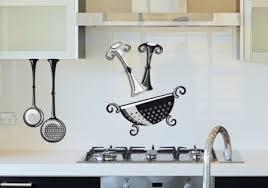 autocollant cuisine sticker saliere en noir blanc et gris pour cuisine murs et crédences