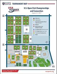 map us open event field map play usa ultimate