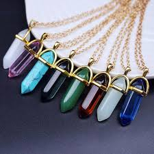 turquoise gold chain necklace images Wholesale chic gold chain necklace italy fashion opal natural jpg