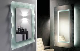 lighted bathroom wall mirror large wall lighted bathroom mirror essential for ideas home with regard to