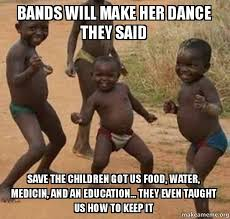 Bands Make Her Dance Meme - bands will make her dance meme the ground beneath her feet