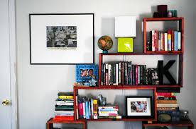 Canadian Home Decor Magazines Apartment Bedroom Living Room With Bookshelves Bookshelf Designs