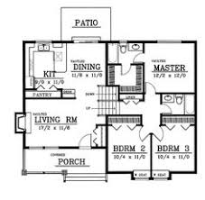one bungalow house plans home plans bungalow house plans 3 bedroom 2 bathroom no