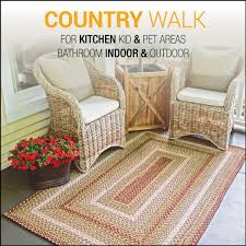 country walk outdoor braided rugs