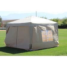 Patio Tent Gazebo 10 X 10 Palm Springs Ez Pop Up Sand Canopy Gazebo Tent With 4 Side