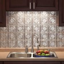 Tin Tiles For Backsplash In Kitchen Extraordinary Faux Tin Tiles For Kitchen Backsplash Pictures For