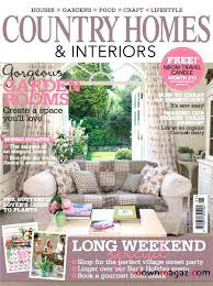 Country Homes Interiors Magazine Subscription Country Homes And Interiors Magazine Icheval Savoir