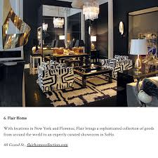 flair home collection new york press