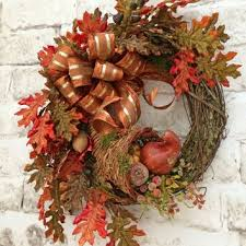 Decorating Grapevine Wreaths For Christmas by Best Fall Grapevine Wreath Products On Wanelo