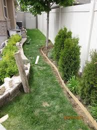 Backyard Improvement Ideas by Diy Curbing For The Backyard Palehose9