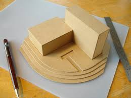basic architectural models in u0027kraft board u0027 davidneat