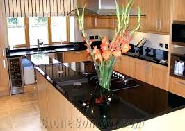 Kitchen Island Black Granite Top Black Kitchen Island With Granite Top Biceptendontear