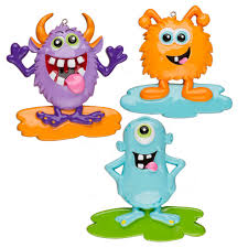 goofy monsters assortment personalized ornament