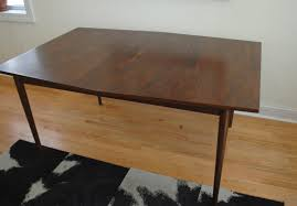 dining table phylum furniture mid century modern walnut dining table