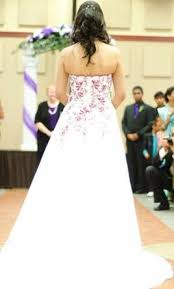 wedding dresses david s bridal david s bridal t8763r 250 size 4 used wedding dresses