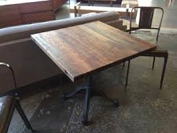 Reclaimed Wood Bistro Table Whats Is New 10 Reclaimed Wood End Tables Reclaimed Wood Table