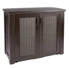 rubbermaid patio storage cabinets rubbermaid brown patio storage cabinet christmas tree shops andthat