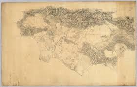 County Map Of Los Angeles by Los Angeles U0026 San Bernardino Topography David Rumsey Historical