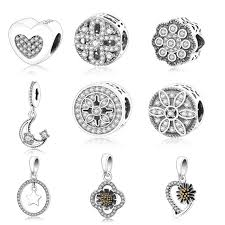 sterling silver charm bead bracelet images 925 sterling silver charm beads pendant fit original pandora charm jpg