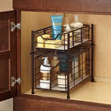 bathroom cabinets best under cabinet organizer bathroom on a