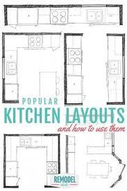 small kitchen layout ideas best 25 small kitchen layouts ideas on kitchen