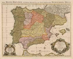 Map Of Spain by Hjbmaps Antique Map Of Spain U0026 Portugal U2013 Hjbmaps Com Harlan J