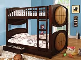 Amazoncom Furniture Of America Basketball Bunk Bed With - Furniture of america bunk beds
