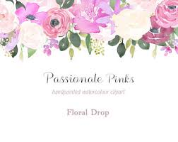 floral watercolor etsy