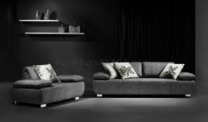 grey fabric modern living room sectional sofa w wooden legs fabric modern living room sofa w adjustable headrests