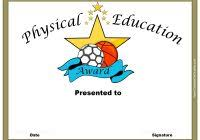 football certificate templates free professional and high