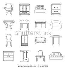 Home Interior Vector by Interior Outline Stock Images Royalty Free Images U0026 Vectors