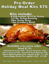 Thanksgiving Cooked Turkey Order The Turnip Truck Pre Order A Meal Kit
