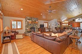 tahoe mountain lodge luxury tahoe home with a game room