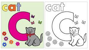 bubble letter c coloring page coloring pages ideas