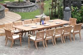 outdoor teak table outdoorlivingdecor
