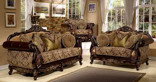 Traditional Fabric Sofas Sofas Center Antique Sofa Set Barcelona Traditional Faux Leather
