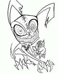 scary dragon coloring sheets scary ghost coloring pictures kids