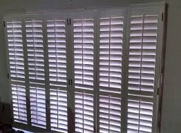 Plantation Shutters On Sliding Patio Doors Plantation Shutters For 96 X 80 Sliding Patio Door Household