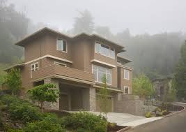 House Plans For Views House Plan For Hillside Views 69453am Architectural Designs