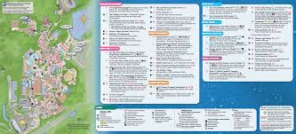 Magic Kingdom Map Orlando by New Disney U0027s Hollywood Studios Guidemap Now Available