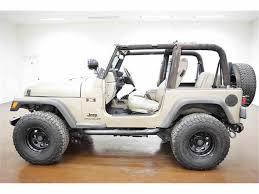 jeep wrangler light grey 2004 jeep wrangler for sale classiccars com cc 1048564