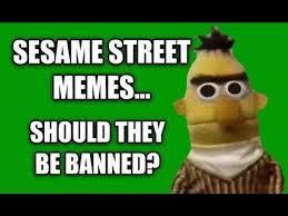 Sesame Street Memes - sesame street memes should they be abolished sesame street on