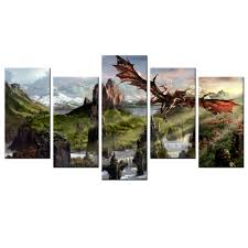 Home Decor Wall Posters Popular Dragon Pictures Art Buy Cheap Dragon Pictures Art Lots