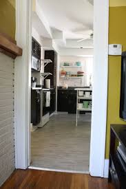Paint Wood Kitchen Cabinets Kitchen Awesome Small U Shape Kitchen Decoration Using Dark Brown
