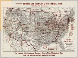 Map Of Des Moines Iowa Radio Map Of The United States David Rumsey Historical Map