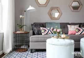 Lowes Living Room Furniture Lowe S Fall Makeover Reveal