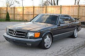 mercedes 560 sec amg for sale 1990 mercedes 560 series cars for sale