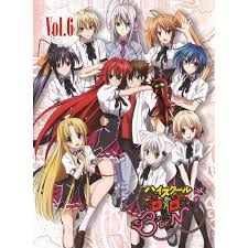 high school high dvd high school dxd born vol 6 dvd cd